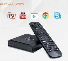 ТВ-приставка Kartina Quattro