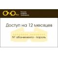 Абонемент Русские и Украинские каналы (RU + UA) 12 мес (360 дней)
