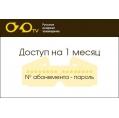 Абонемент Русские и Украинские каналы (RU + UA) 1 мес (30 дней)